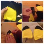 DIY Easy Pikachu Ears/Headband (No sewing necessary)