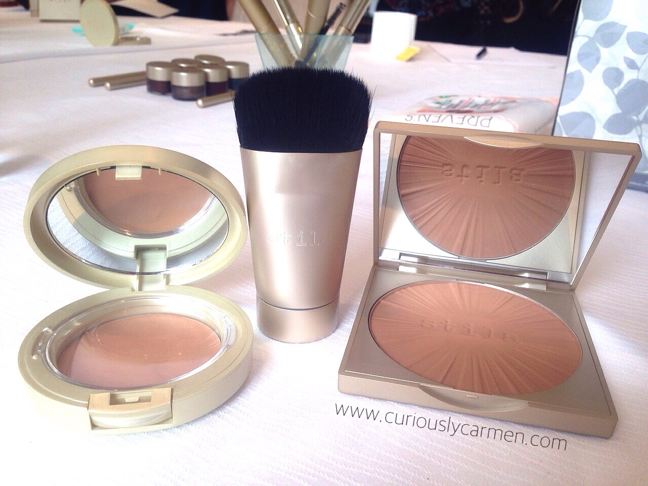 Stila Foundation Poreless Putty Bronzer Brush
