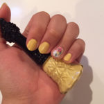 NOTD: Yellow & Floral Nails