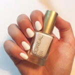 L'Oreal Nail Polish – White