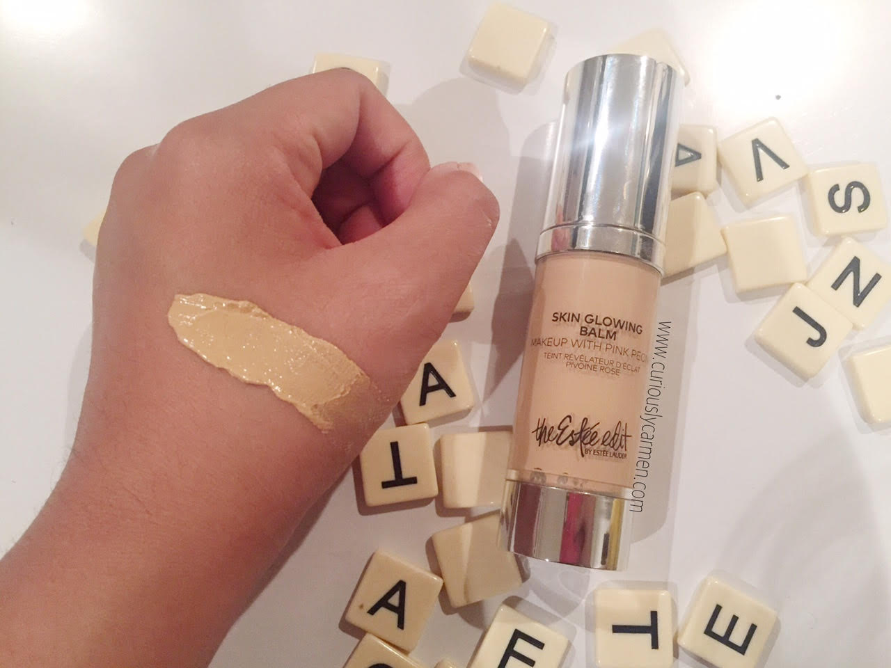 Estee Lauder Skin Glowing Balm Swatch