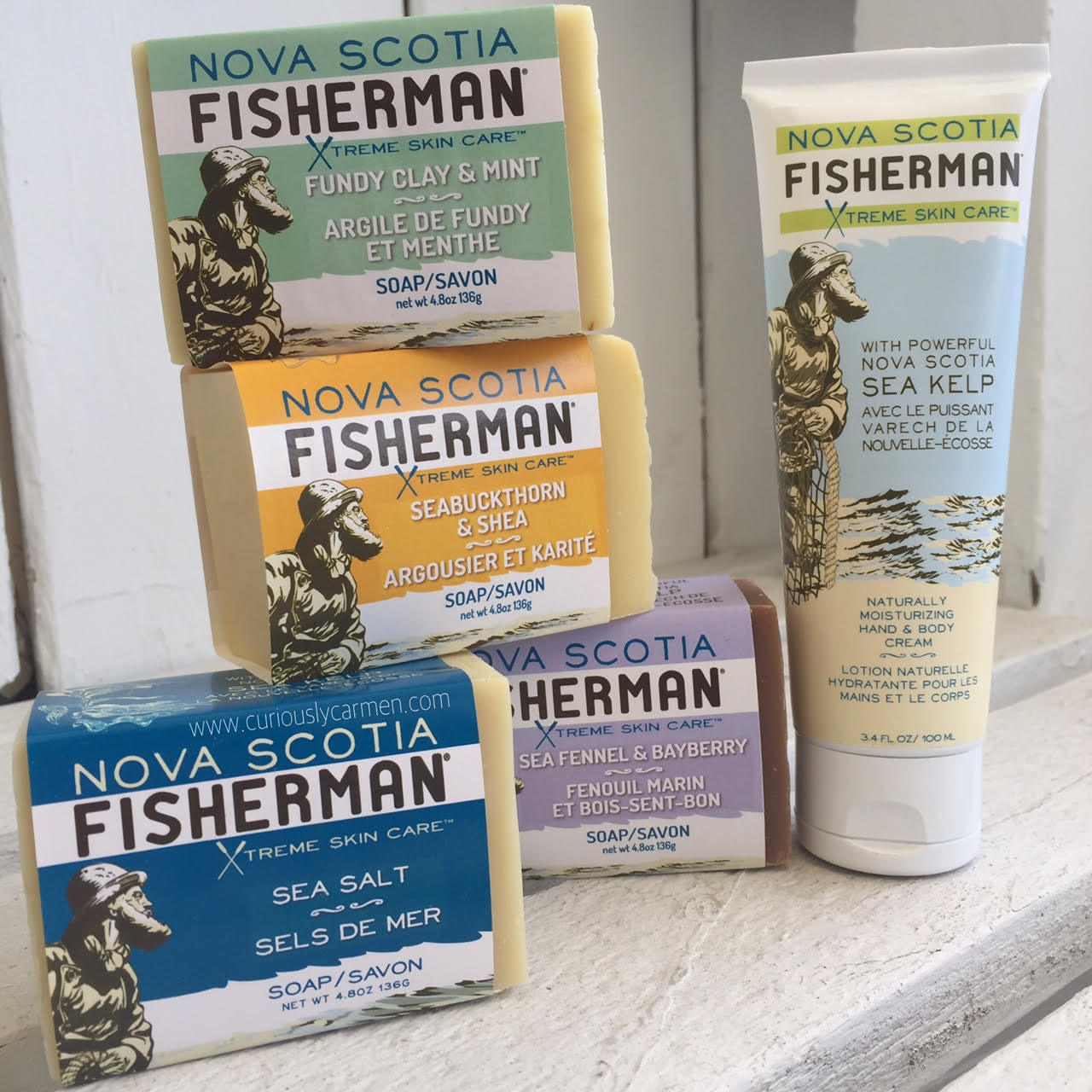 Nova Scotia Fisherman Soap Cream