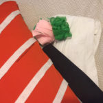 Sushi Costume w/ Wasabi Headband DIY (No sewing needed)