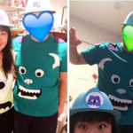 Monsters Inc. Mike & Sully DIY Costume (No Sewing Necessary)