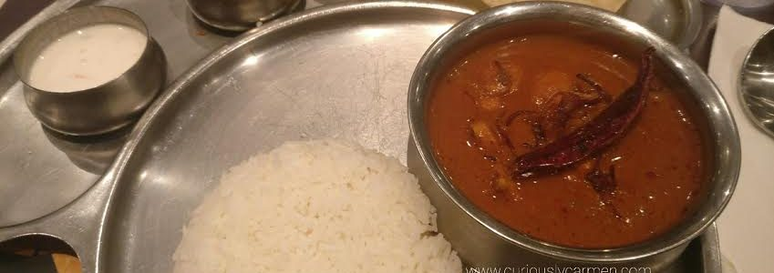Food: Chutney Villa Indian Restaurant – First time going for Indian food!