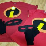 The Incredibles DIY Costume – Cheap, Easy, No sewing needed